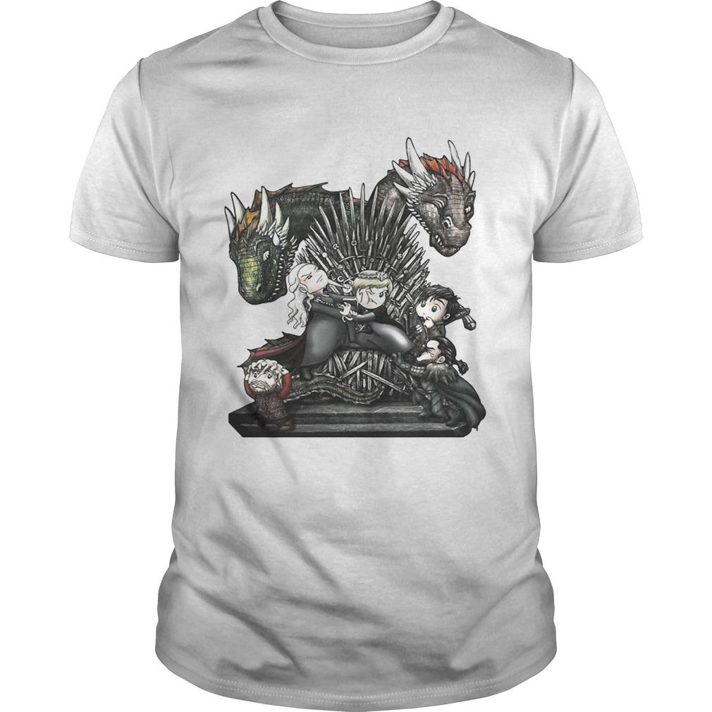 A Game of Thrones GOT chibi Guy shirt