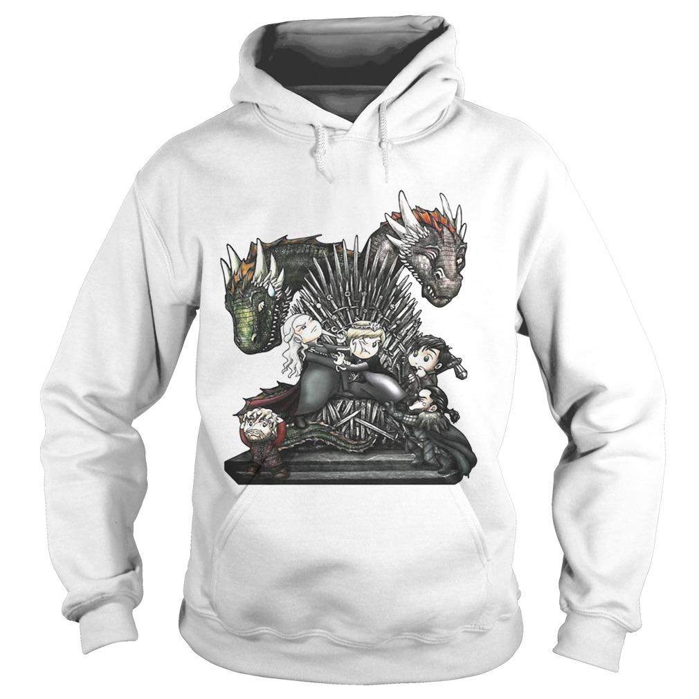 A Game of Thrones GOT chibi Hoodie shirt