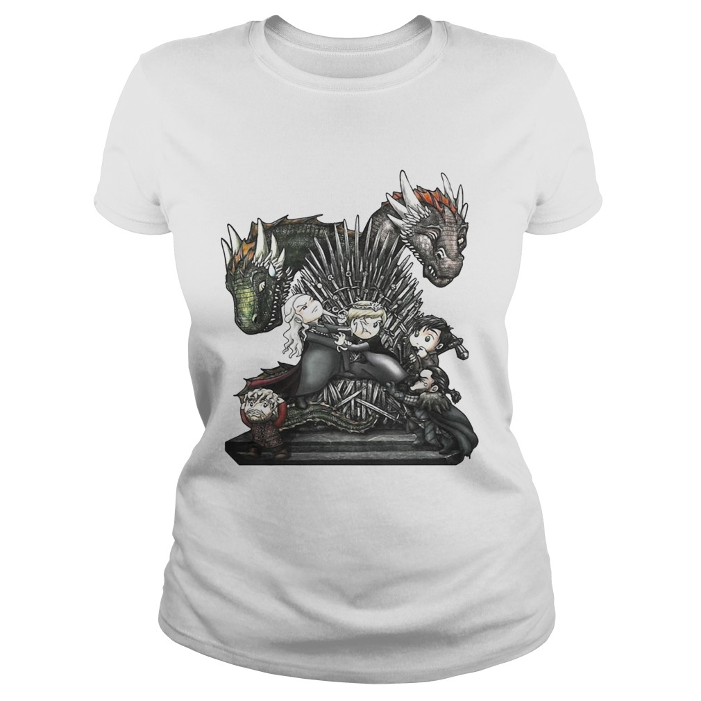 A Game of Thrones GOT chibi Ladies shirt