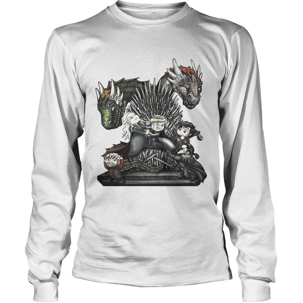 A Game of Thrones GOT chibi Longsleeve shirt