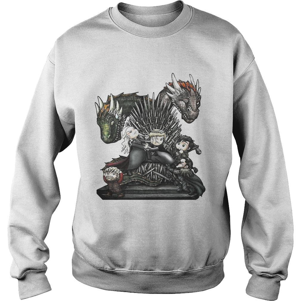 A Game of Thrones GOT chibi Sweat shirt