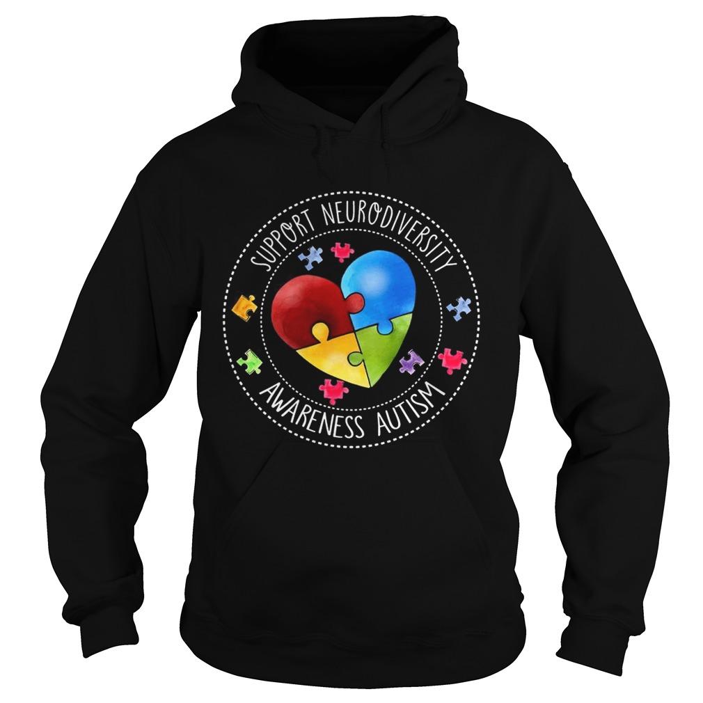 Autism Support Neurodiversity Autism Awareness hoodie TShirt