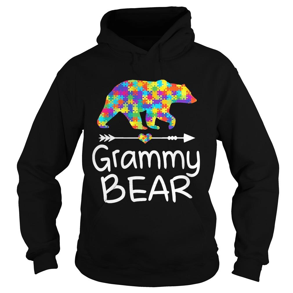 Grammy Bear Autism Awareness TShirt Autism Gift hoodie TShirt