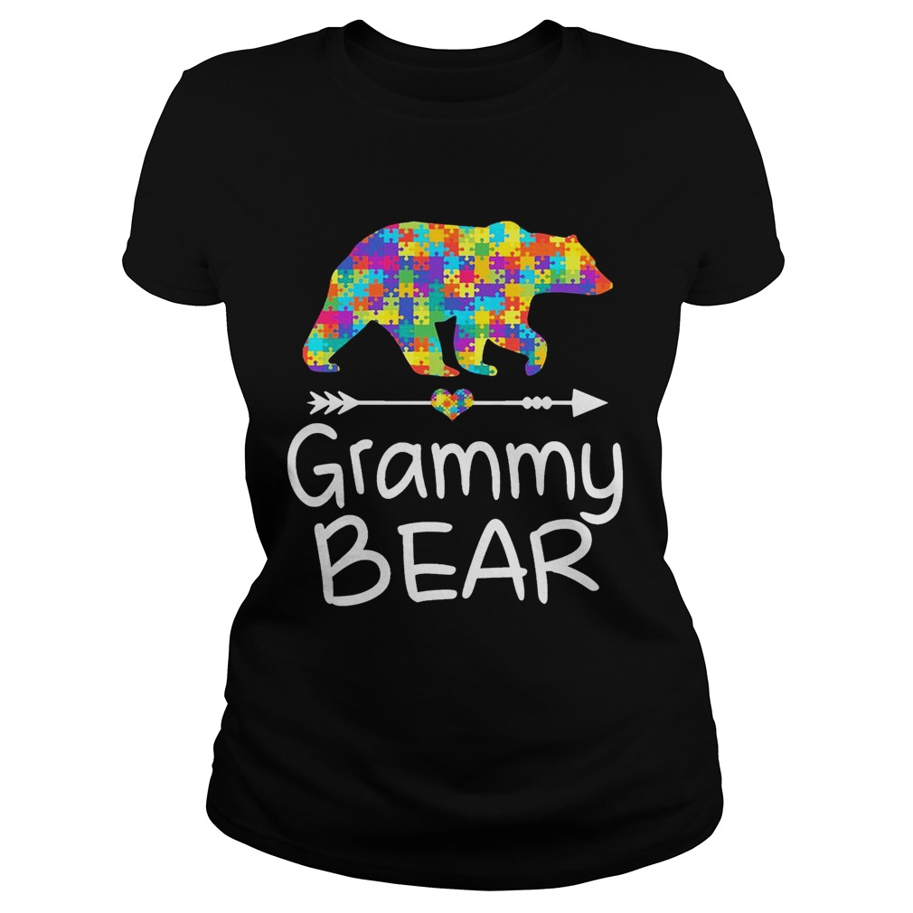 Grammy Bear Autism Awareness TShirt Autism Gift ladies TShirt