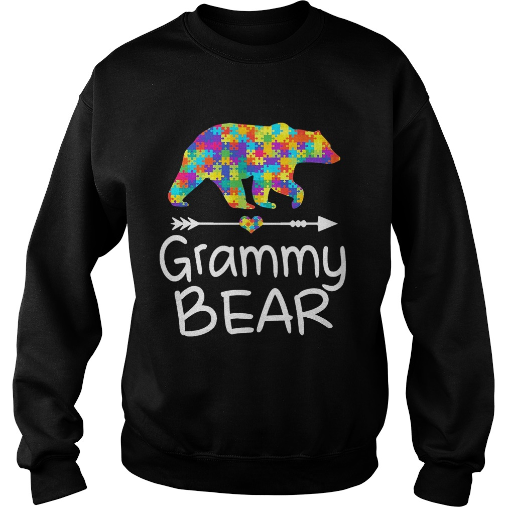 Grammy Bear Autism Awareness TShirt Autism Gift sweat TShirt
