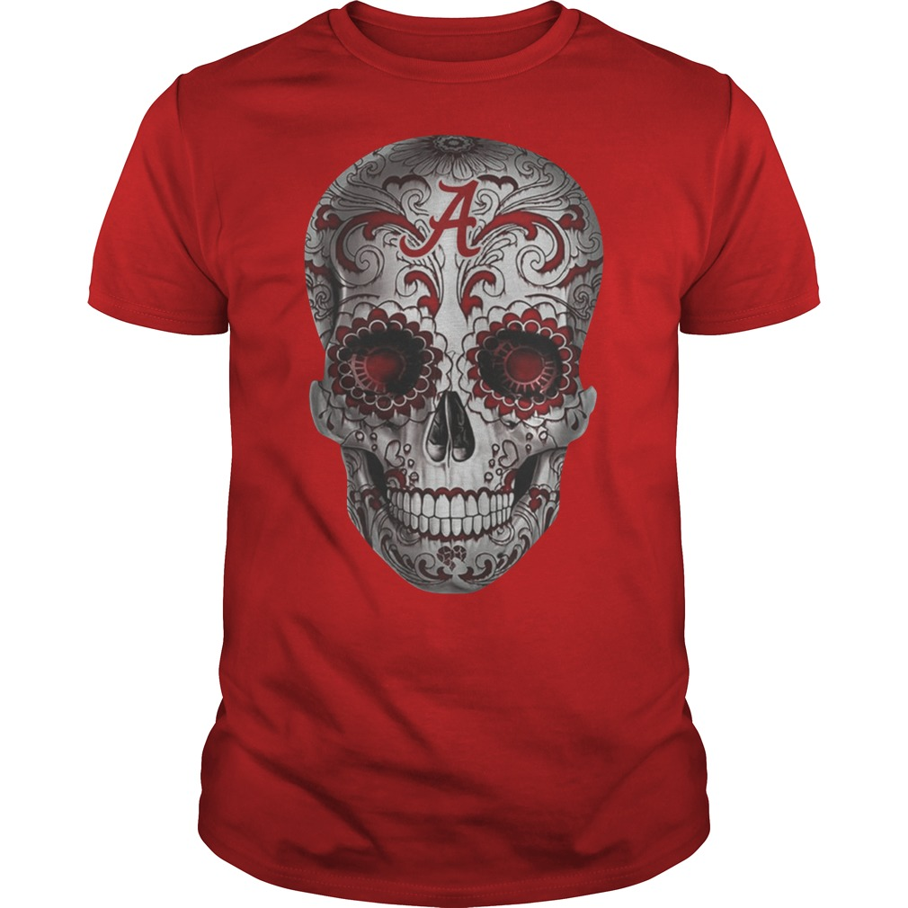 Official Alabama Sugar Skull shirt
