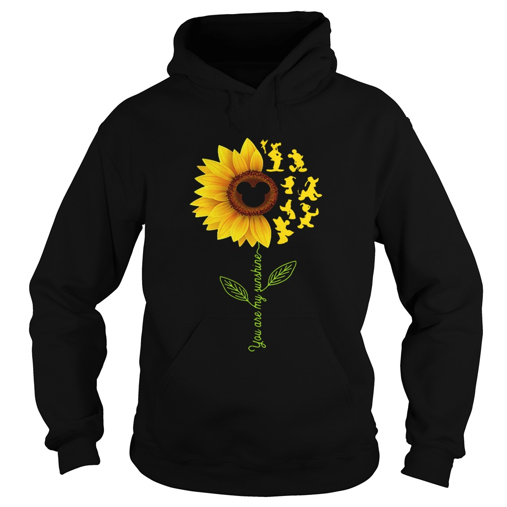 Sunflower you are my sunshine Disney Hoodie shirt