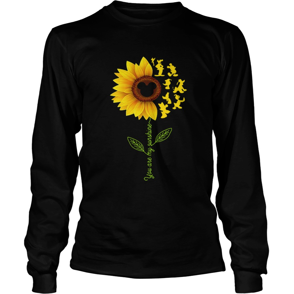 Sunflower you are my sunshine Disney Longsleeve shirt