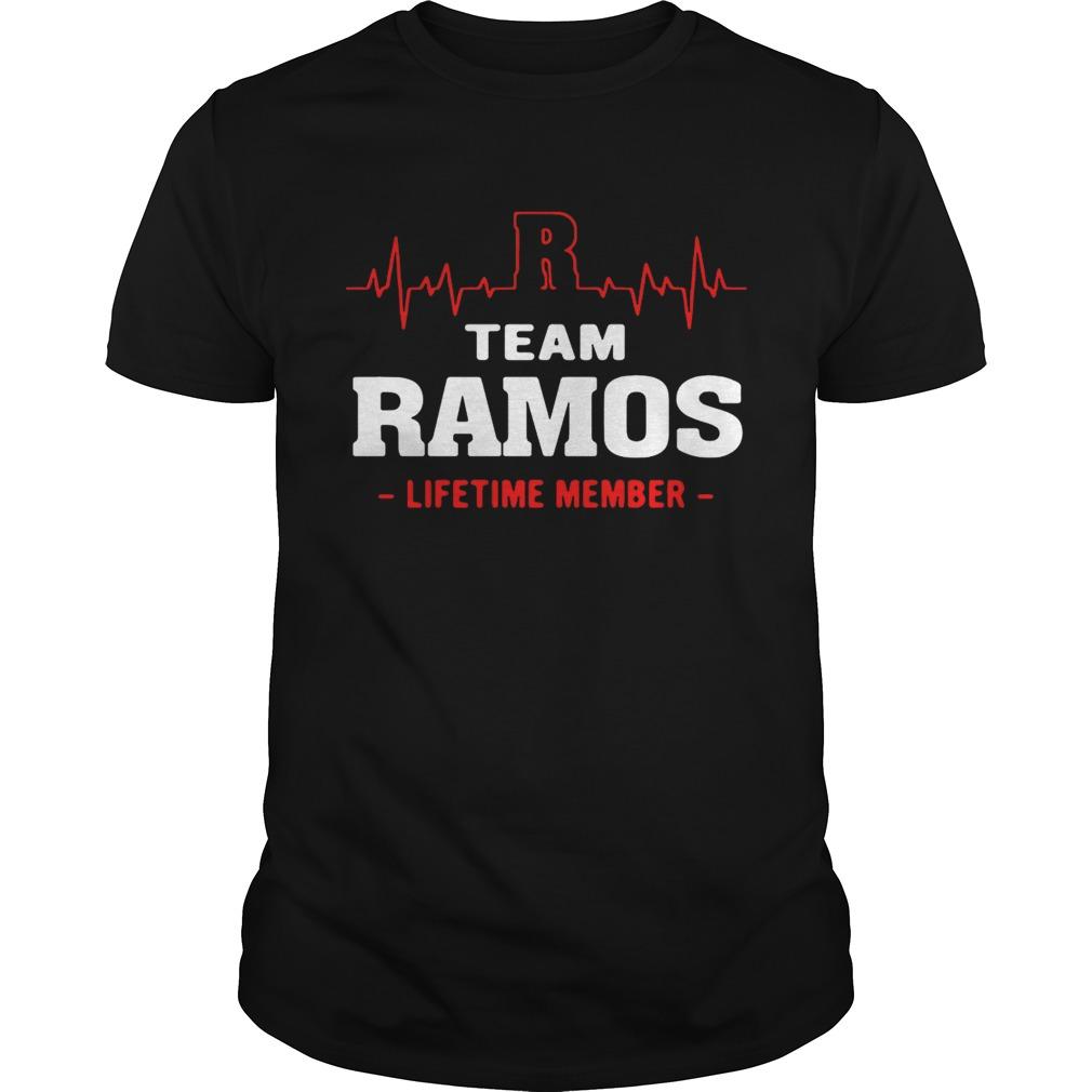 Team Ramos lifetime member guy shirt