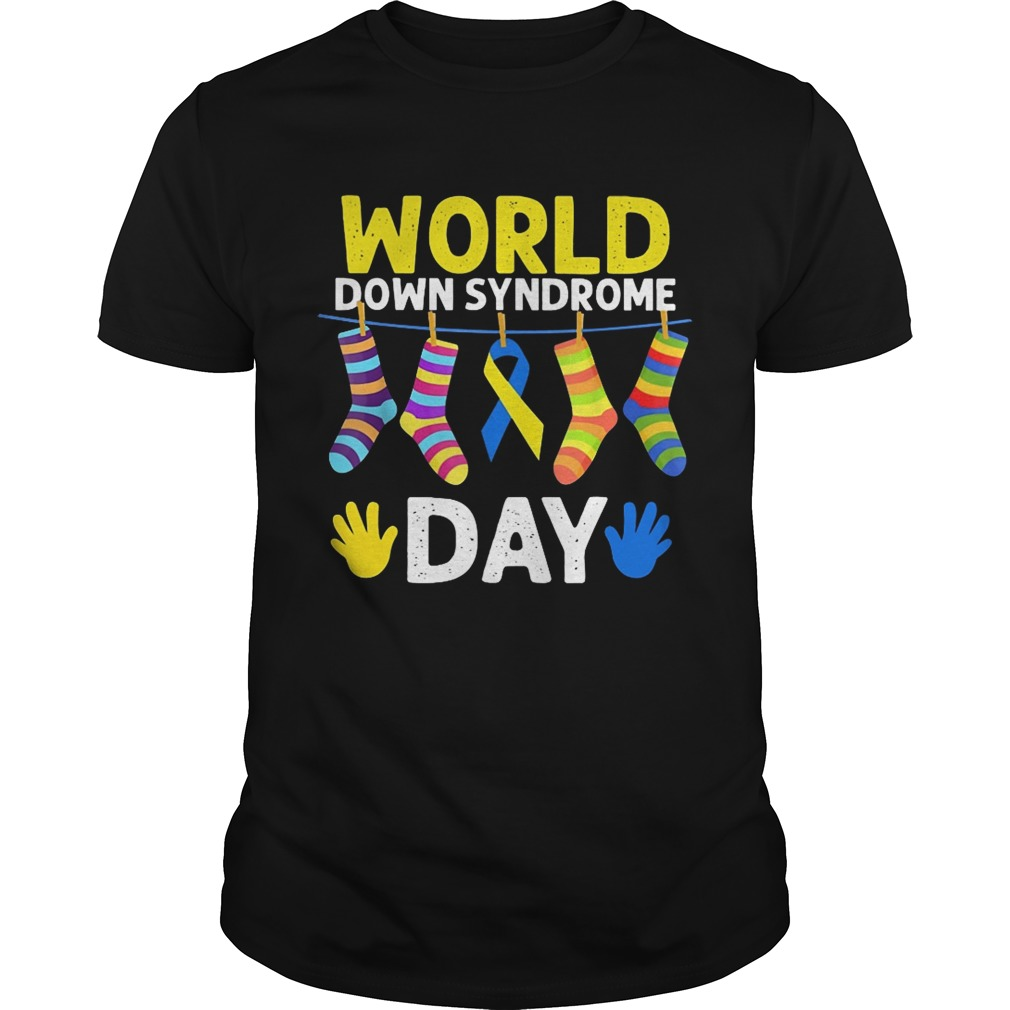 World down syndrome day Guy shirt