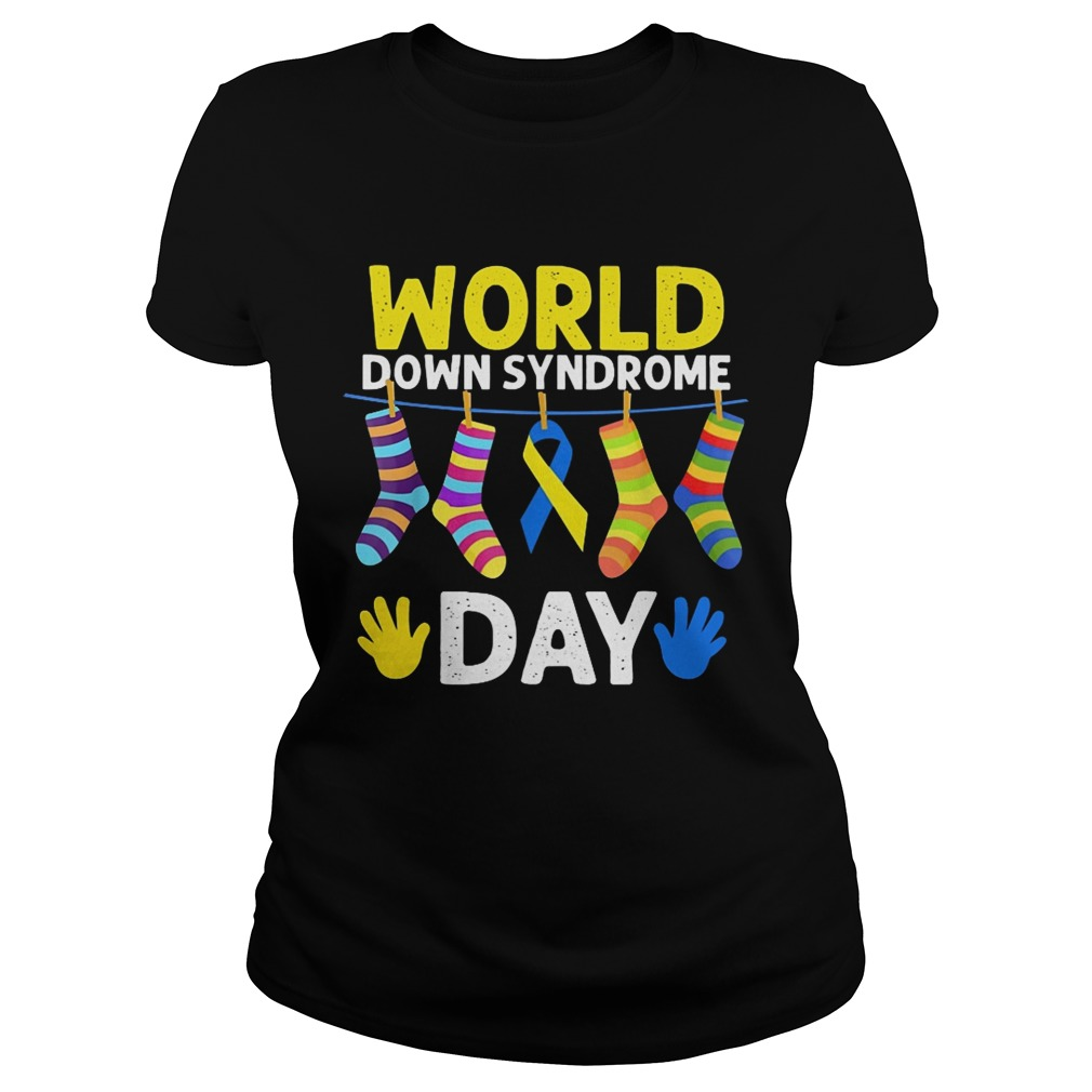 World down syndrome day Ladies shirt
