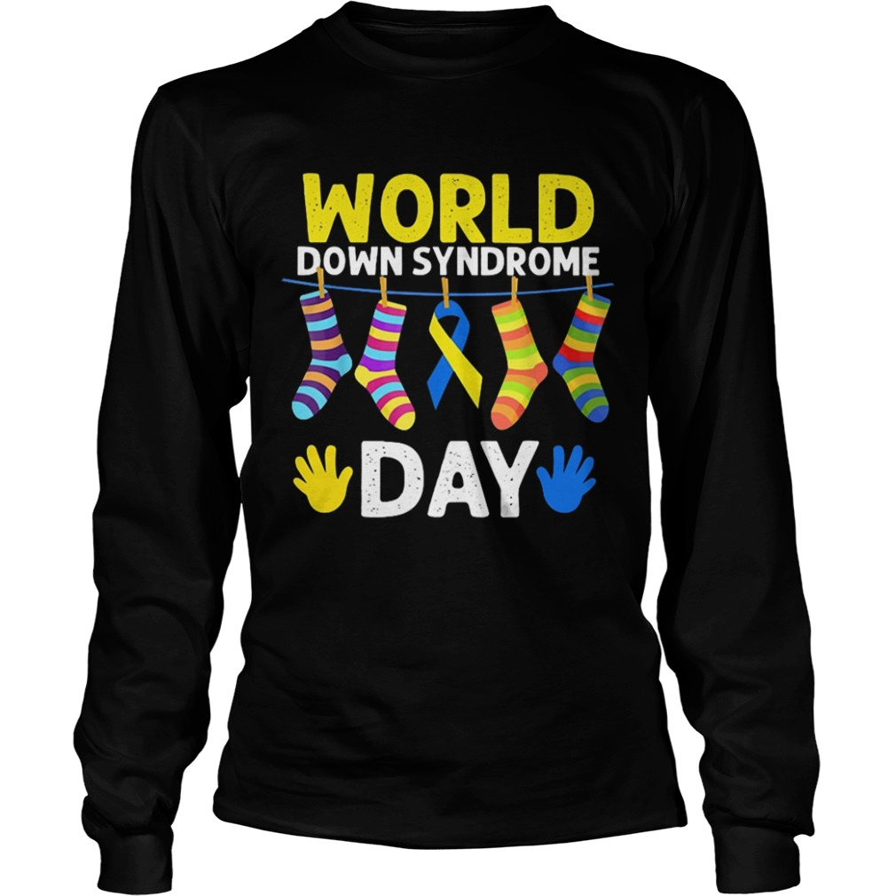 World down syndrome day Longsleeve shirt