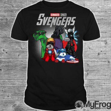 Svengers Schnauzers Avengers Endgame shirt