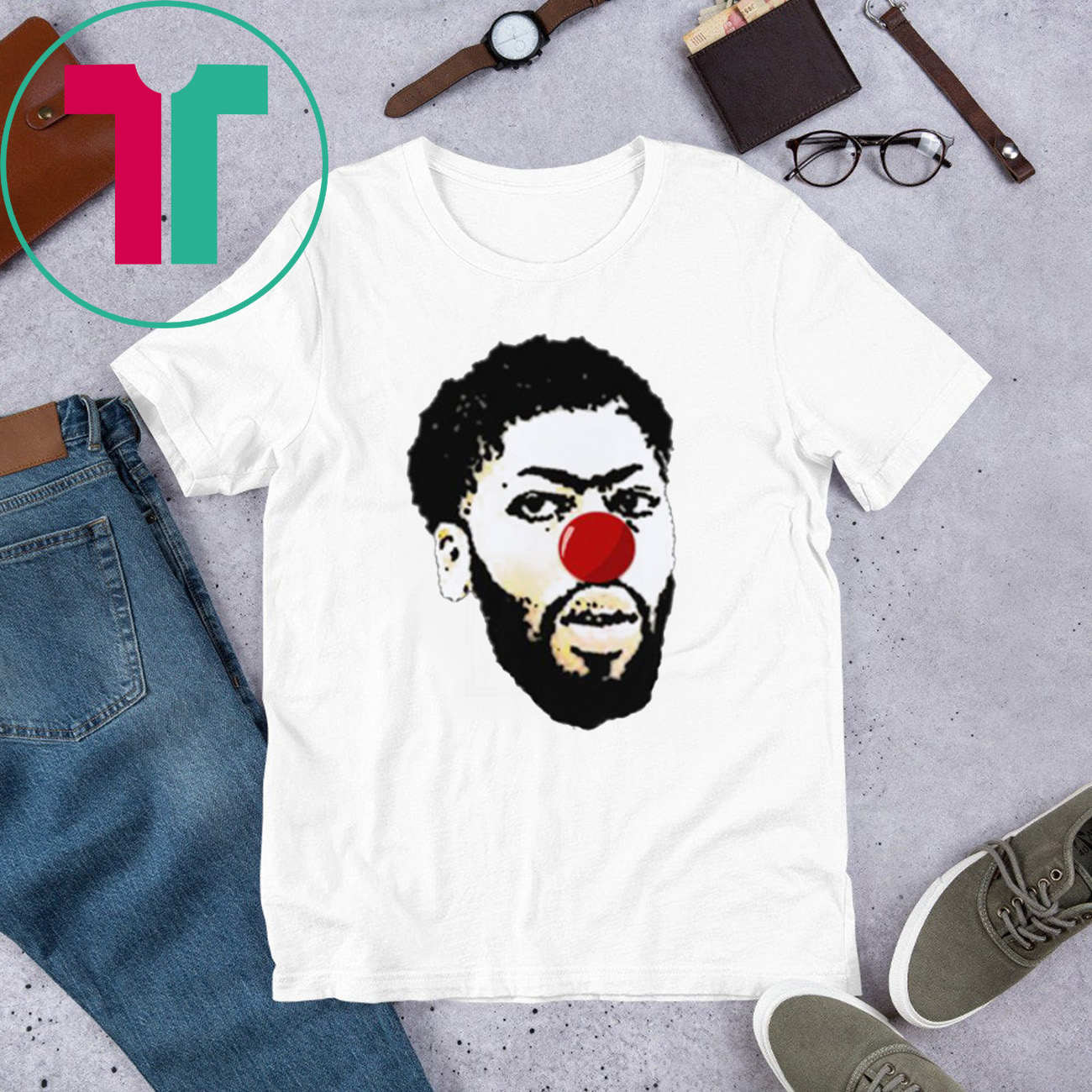 Official Anthony Davis Clown Shirt