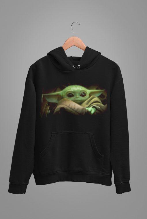 Baby Yoda HOODIE, Baby Yoda Shirt, Yoda shirt