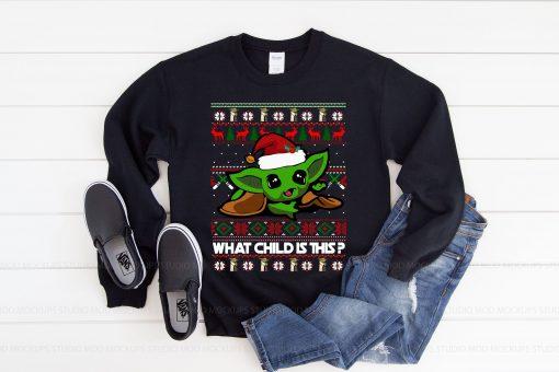 Baby Yoda Star Wars Ugly Christmas Sweater