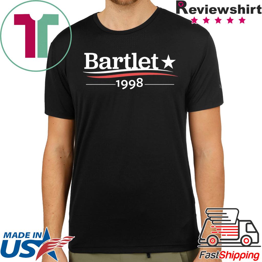 Bartlet 1998 shirt