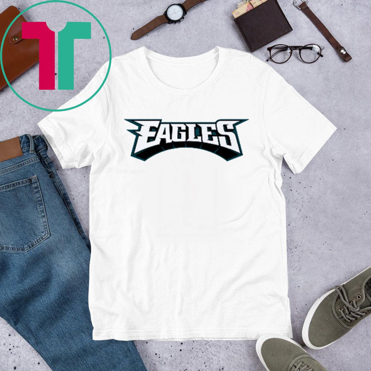 Majestic Philadelphia Eagles Logo 2020 Shirt
