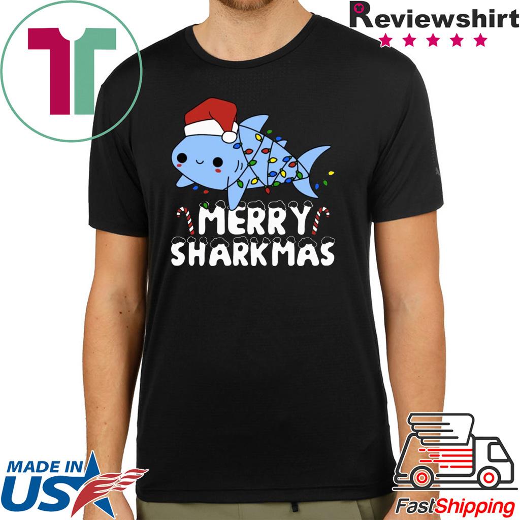 Santa Shark Merry Sharkmas shirt