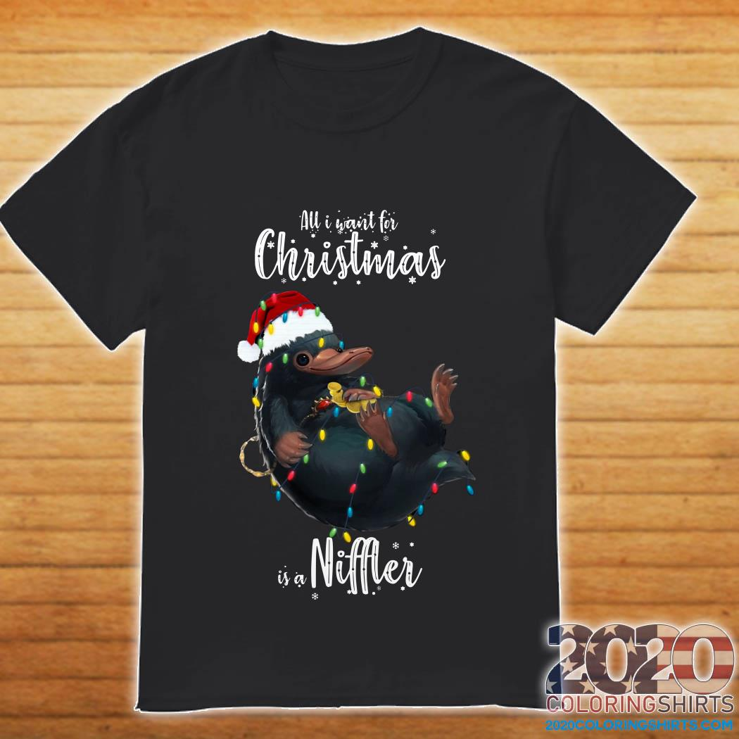 All I want for Christmas is a Niffler shirt