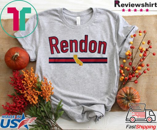 Anthony Rendon Los Angeles Baseball Shirt