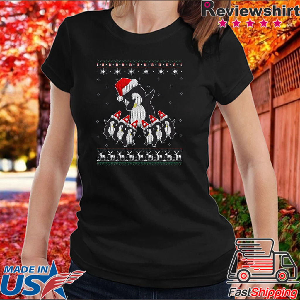 Cute Penguin Ugly Christmas Shirt