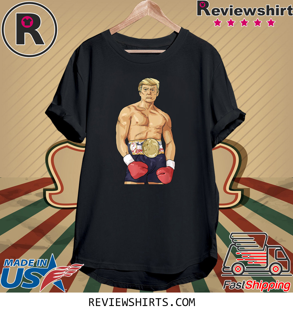Donald Trump Boxing Heavyweight Tee Shirt