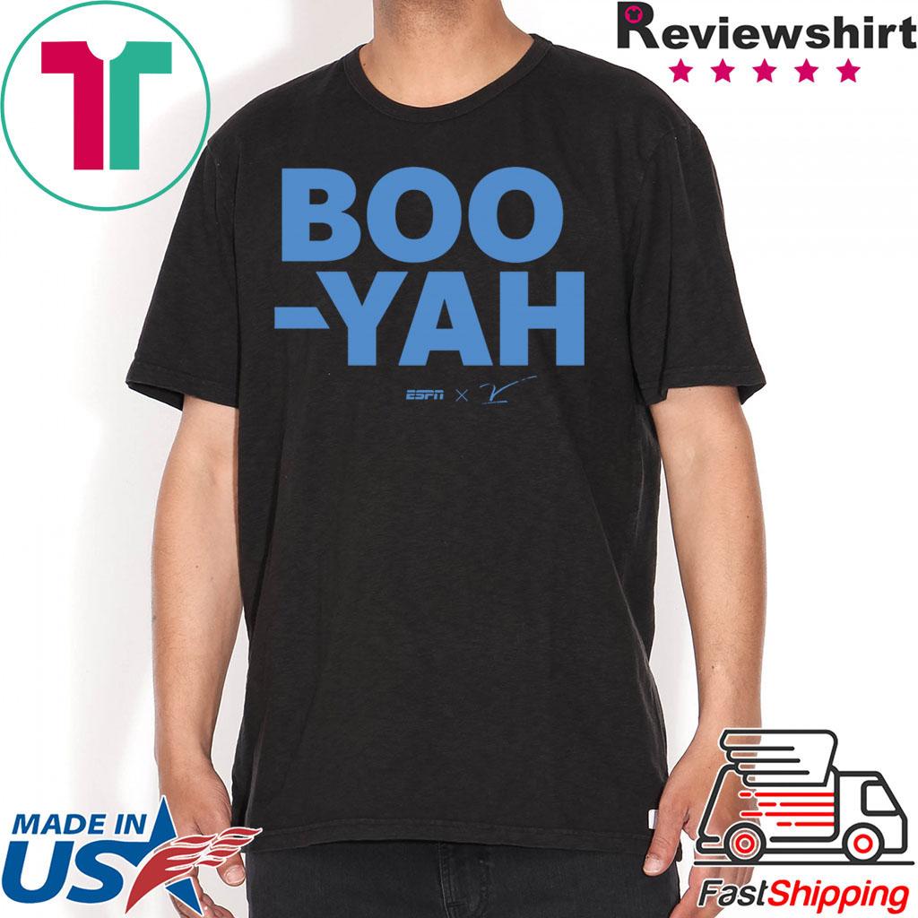 ESPN Stuart Scott Boo Yah Tee T-Shirts