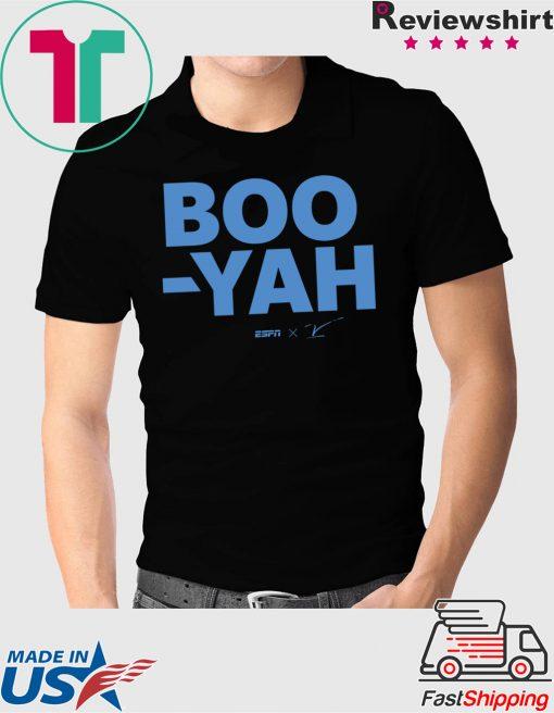 ESPN Stuart Scott Boo Yah Mens Shirt