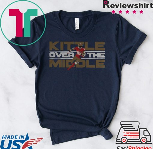 George Kittle San Francisco 49ers Over the Middle shirt