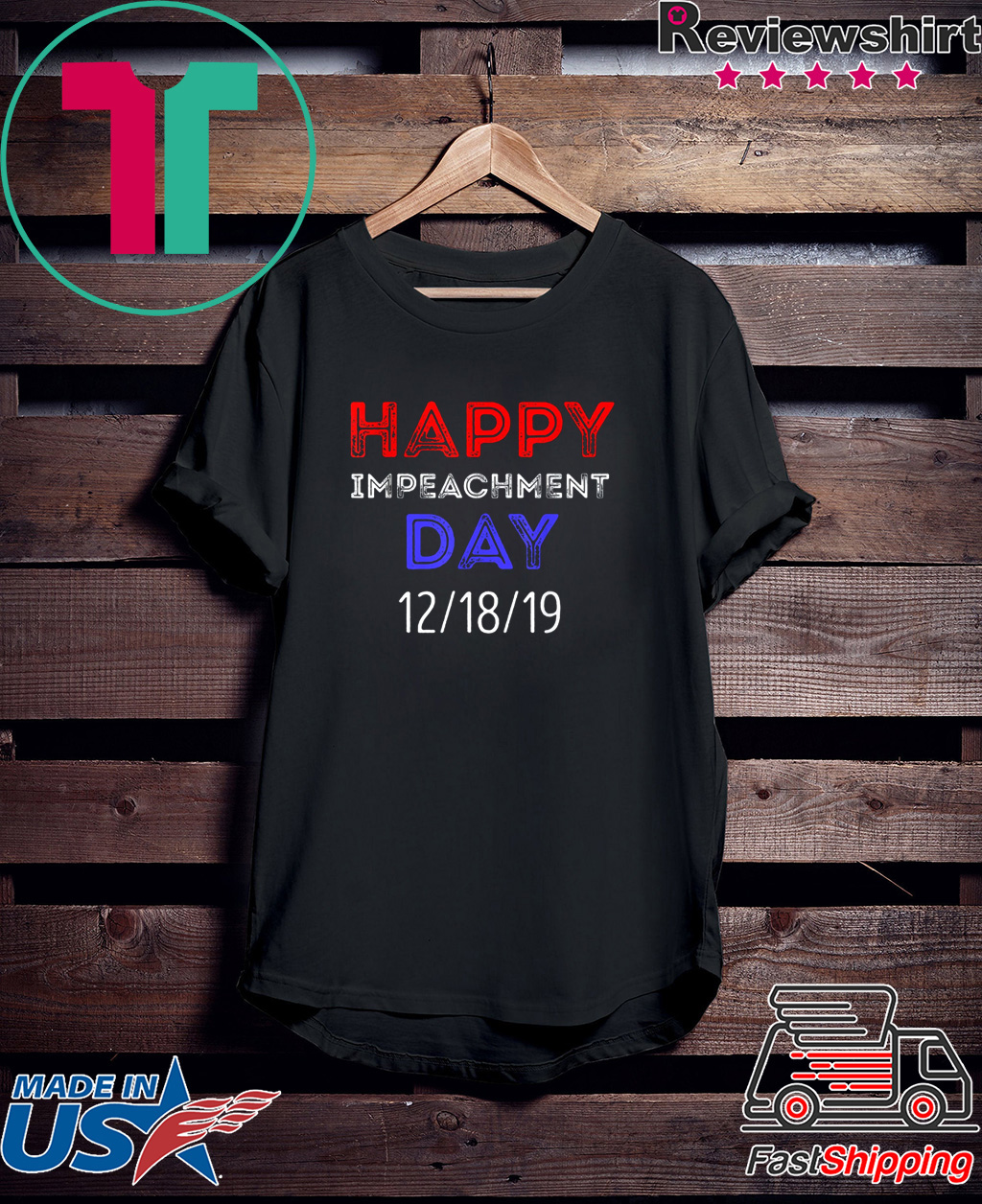 Happy Impeachment Day President Trump Political Gift T-Shirt