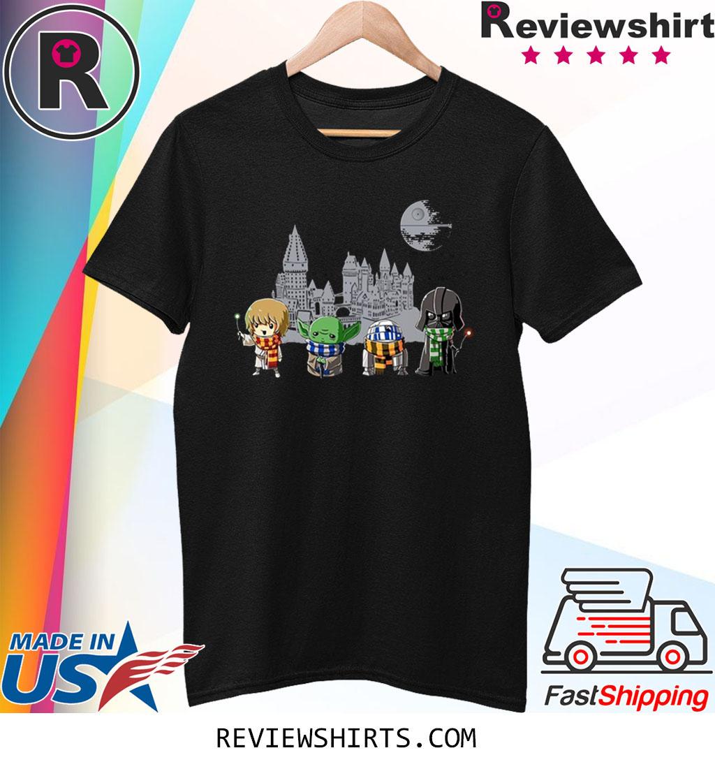 Harry Potter Baby Yoda And Darth Vader Shirt