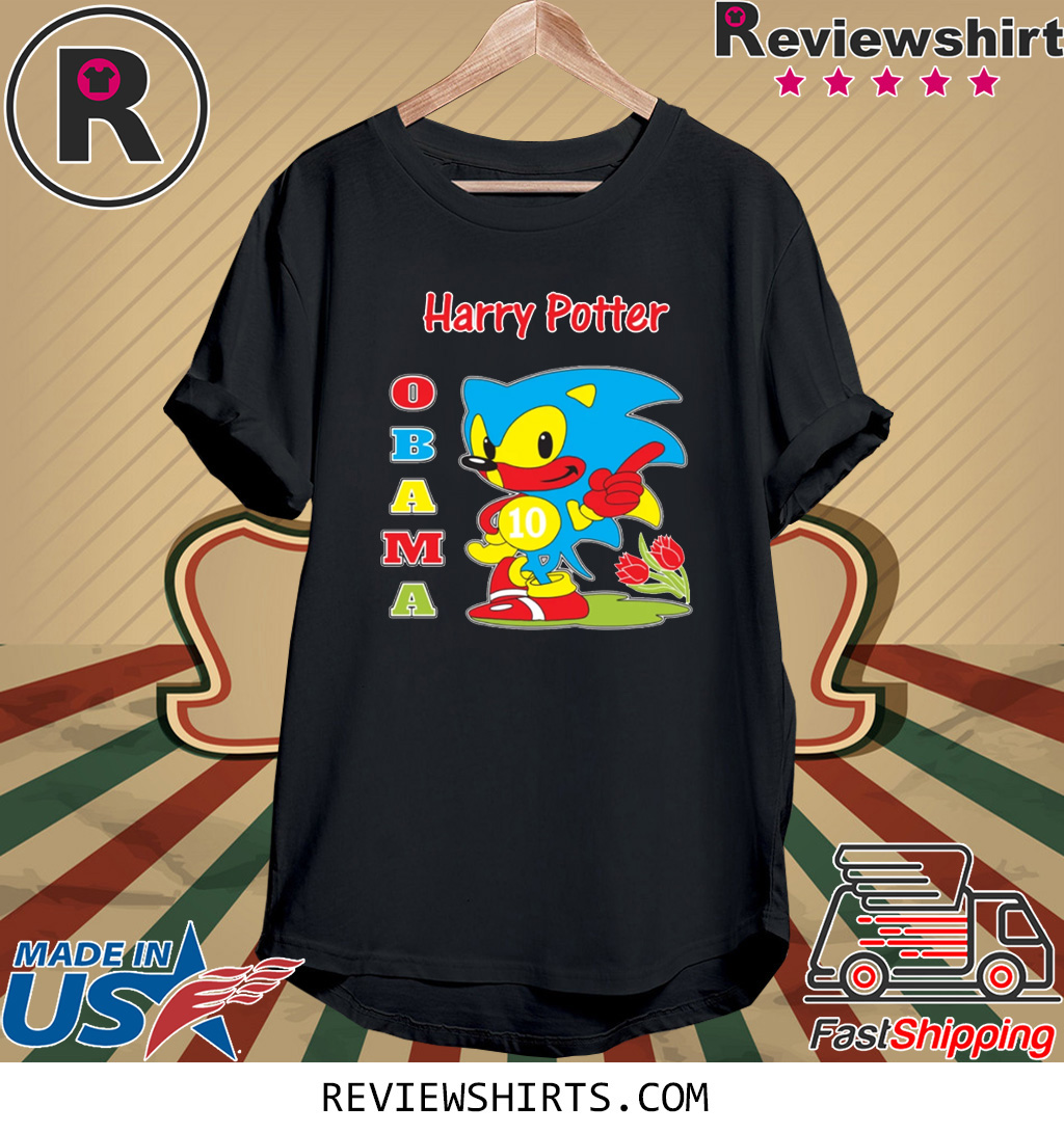 Harry Potter Obama Sonic 10 T-Shirt