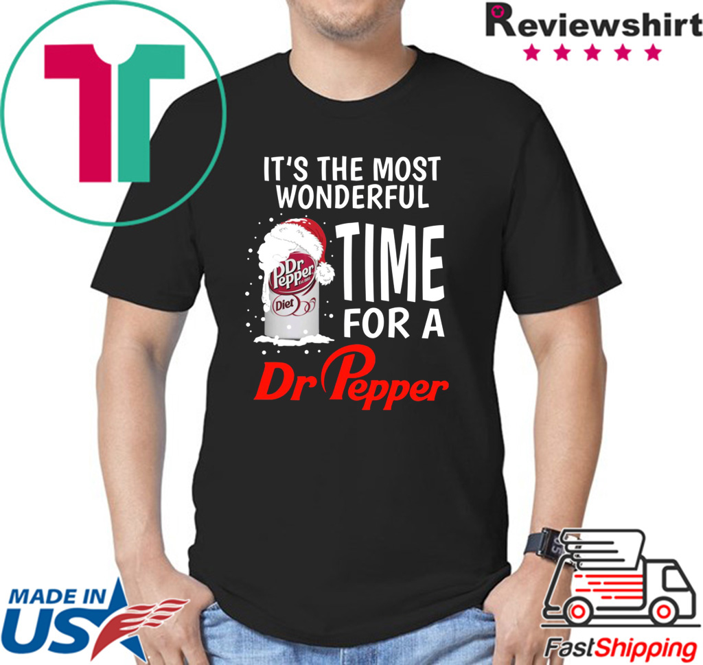 It's the most wonderful time of a Dr Pepper shirt