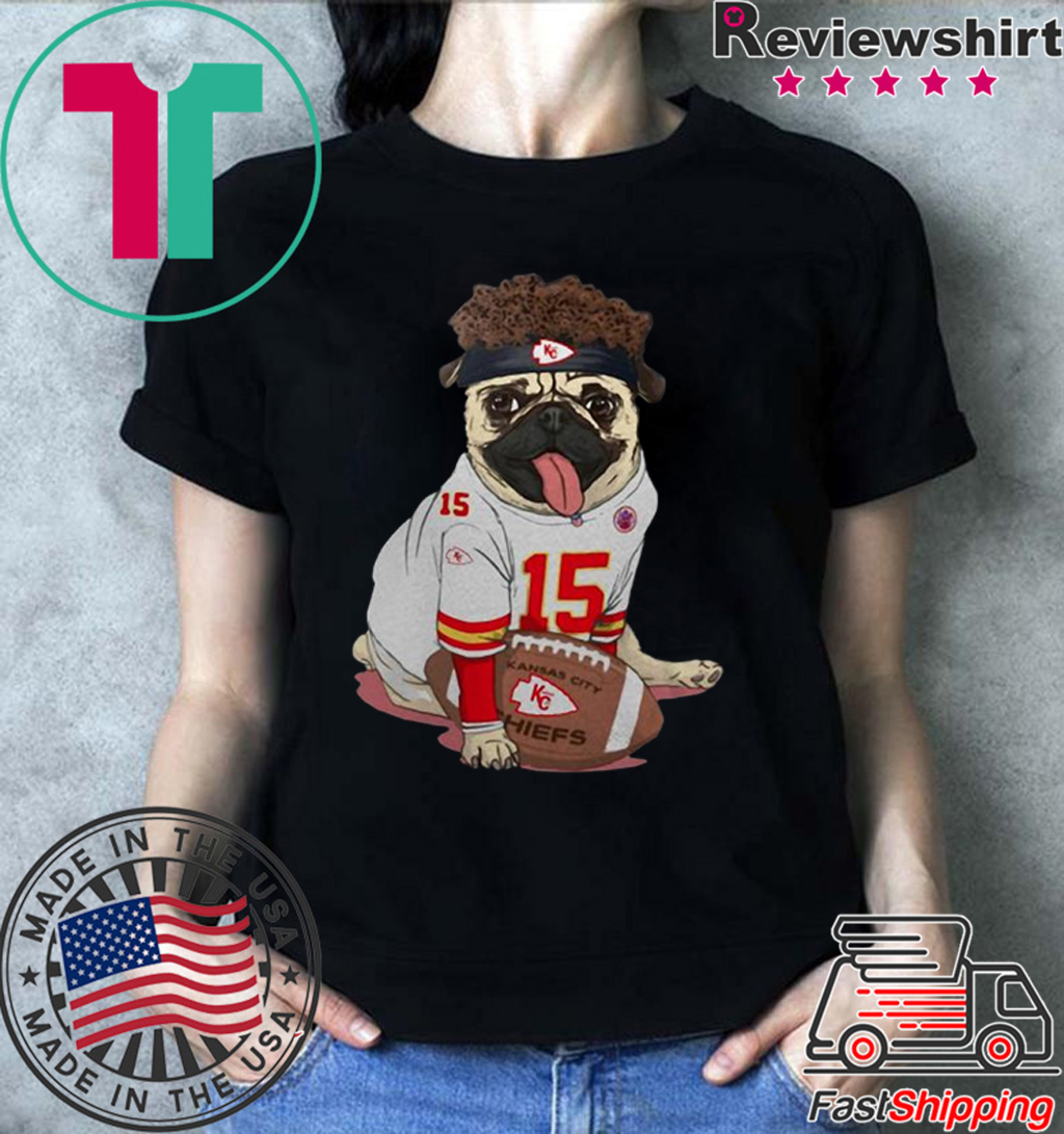 Kansas City Pug Mahomes shirt