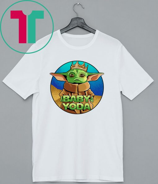 King Baby Yoda The Mandalorian T-Shirt