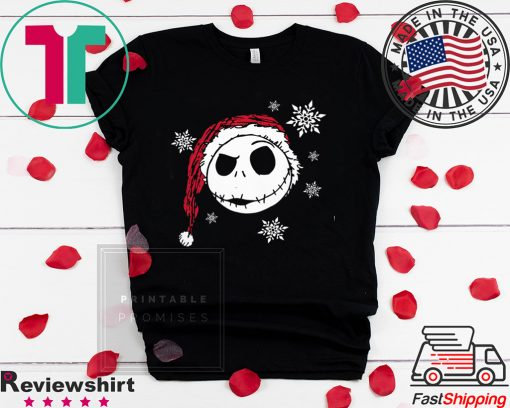 Nightmare Before Christmas Snowflake Shirt