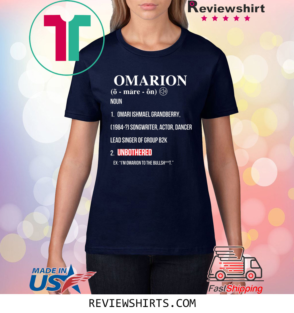 Omarion UNBOTHERED Shirt