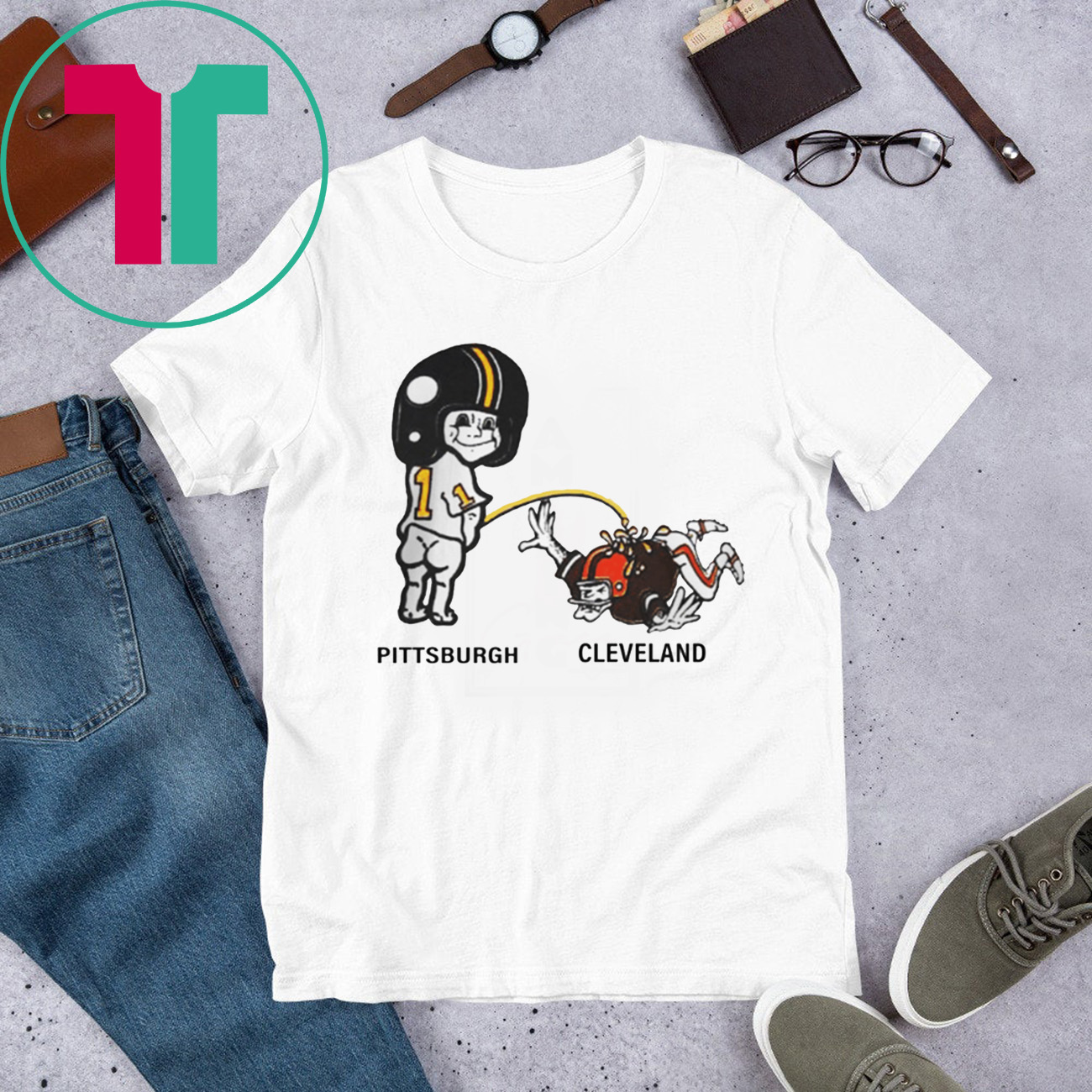 Official Pittsburch Pee Cleveland Shirt