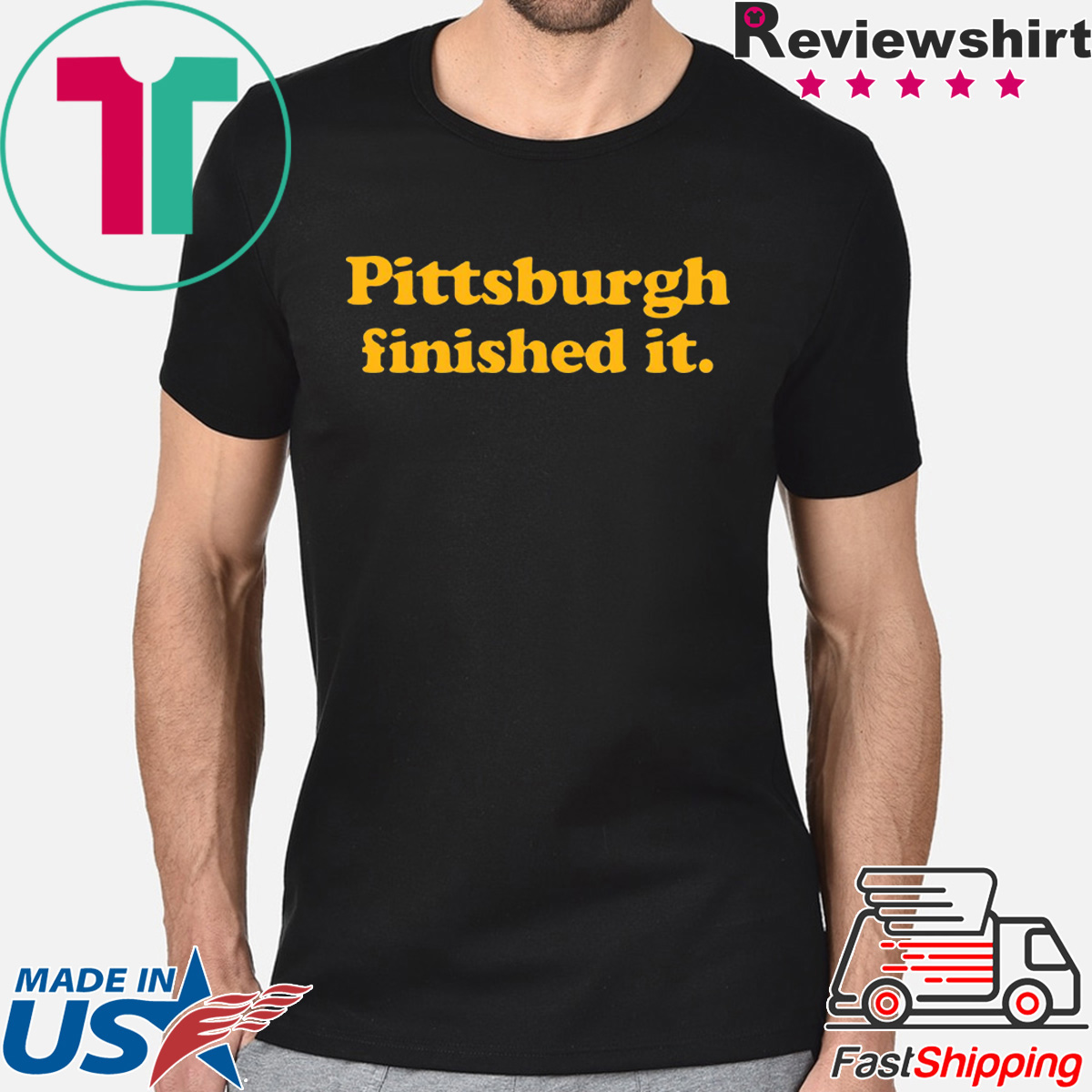 Offcial Pittsburgh finished it T-Shirt