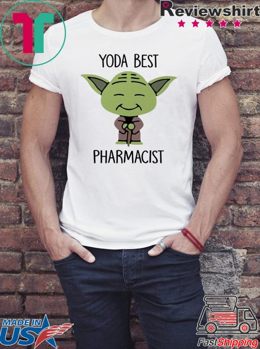 Star Wars Yoda best pharmacist shirt