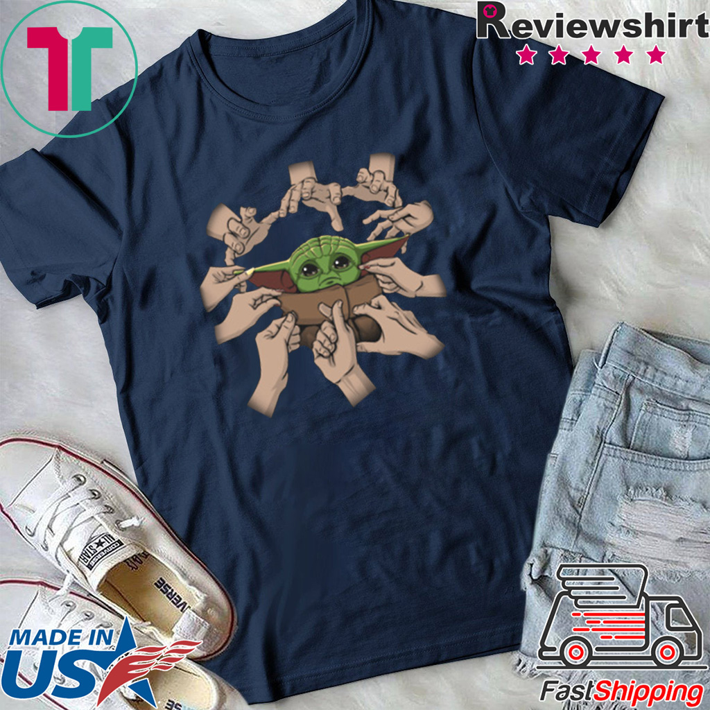 THE BABYOGA - Baby Yoda T-Shirt