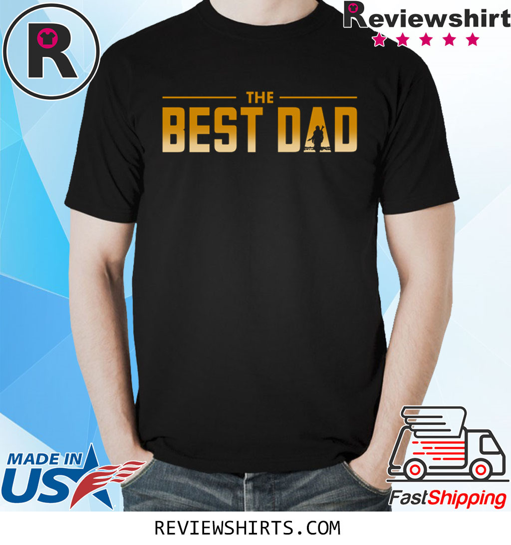 The Best Dad in the Parsec Mandalorian T-Shirt