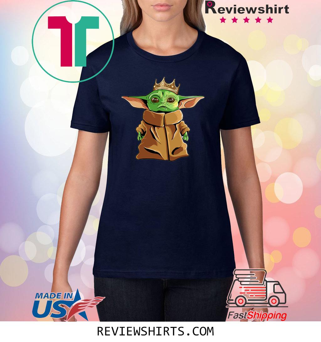 The Mandalorian Baby Yoda King Shirt