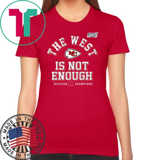 The West Is Not Enough Division Champion T-Shirt
