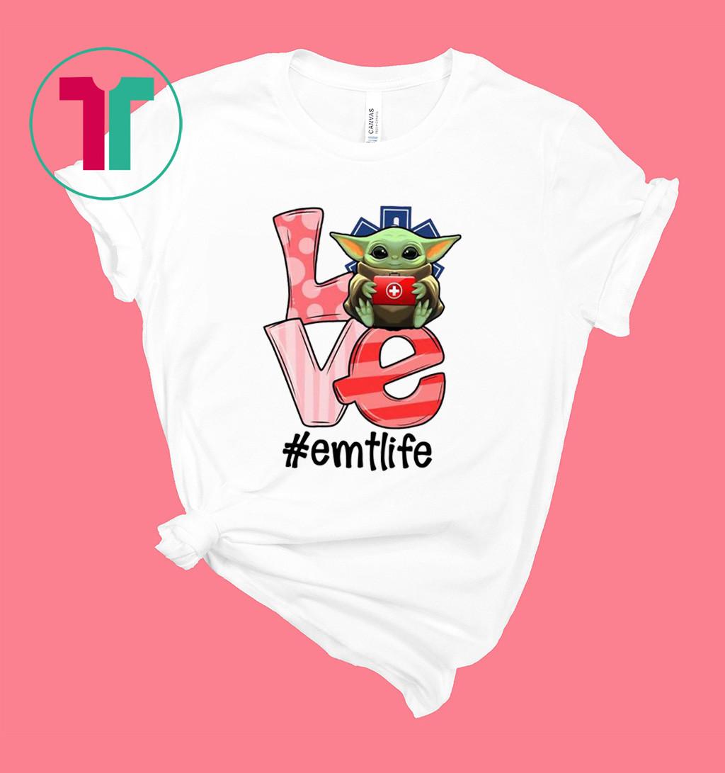 Baby Yoda Love Emergency medical technician Shirt
