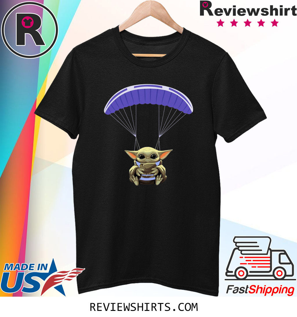 Baby Yoda Parachute Shirt
