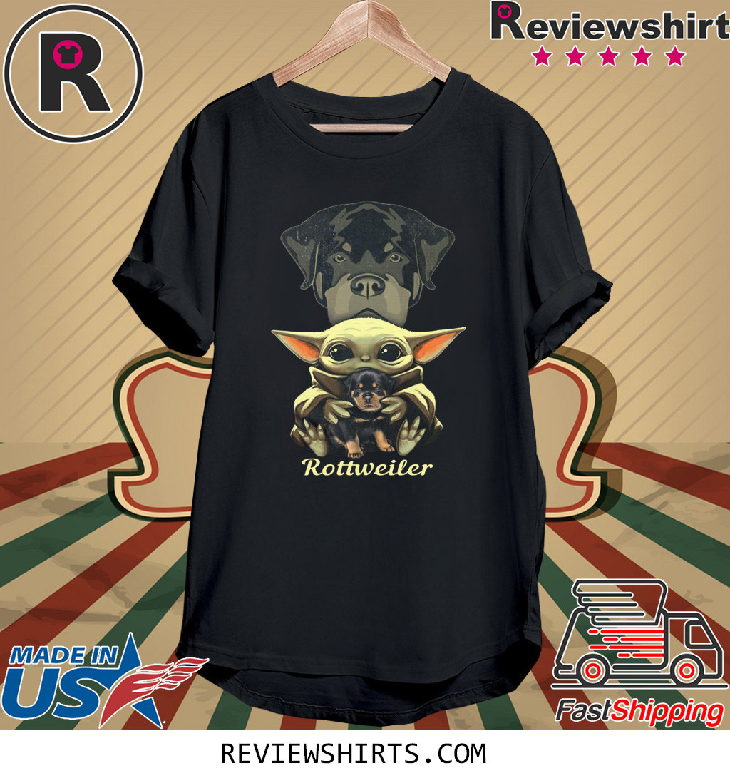 Baby Yoda Rottweiler Shirt