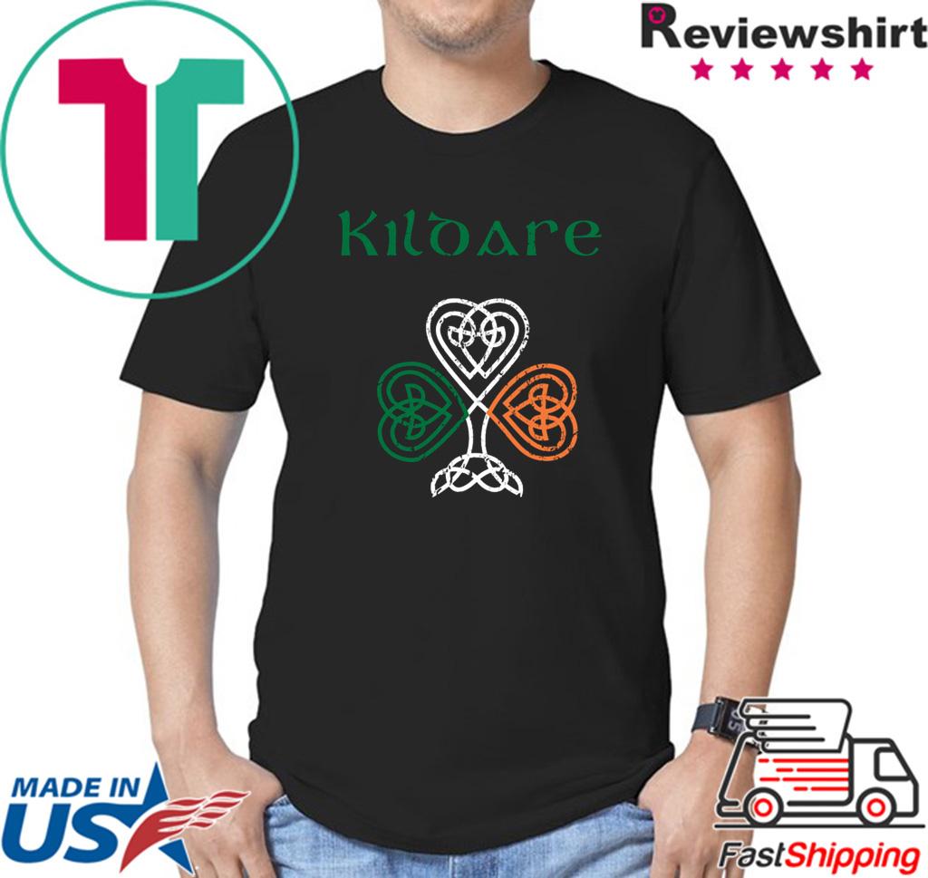 County Kildare Shamrock Ireland Flag, craic and ceol, Shirt