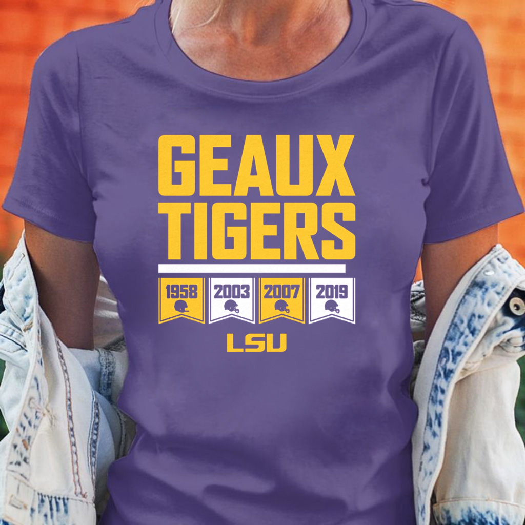 Geaux Tigers Officially LSU Licensed Shirt